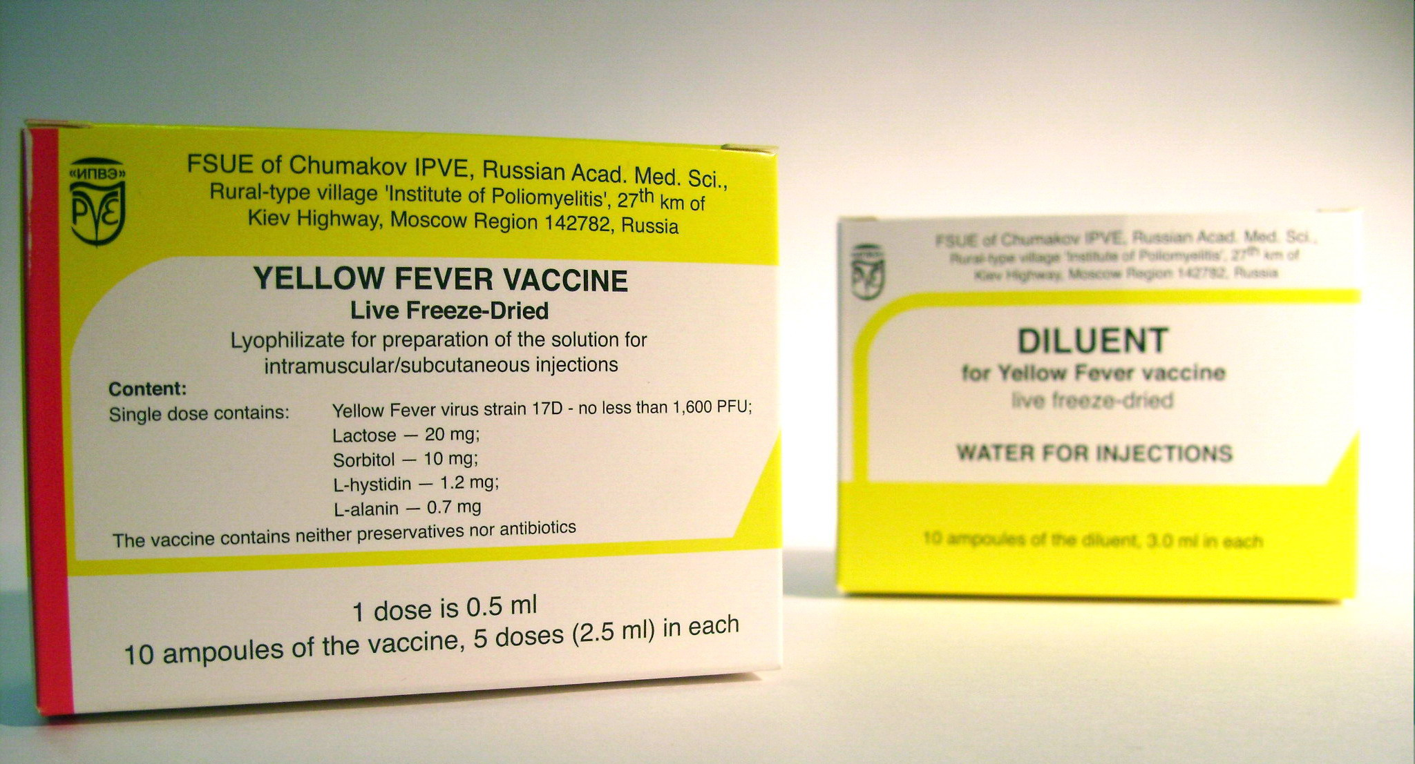 Yellow Fever Vaccine Vaccination Against Tropical Diseases Trade